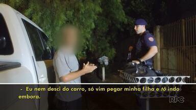 Número de descumprimento de medida protetiva aumenta em Londrina - Segundo a Patrulha Maria da Penha só até o dia 08 de março foram 35 ocorrências. Nós acompanhamos uma equipe da Guarda no atendimento das ocorrências.