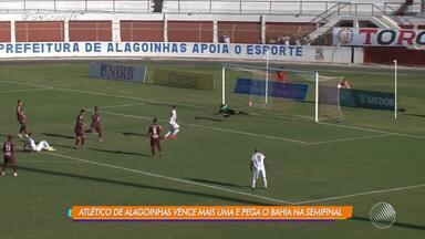 Atlético de Alagoinhas vence o Jacuipense e avança para semifinal do Baianão 2019 - Veja os destaques da partida.