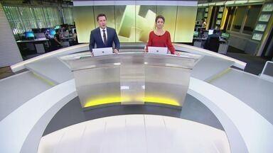 Jornal Hoje - Edição de segunda-feira, 18/03/2019 - Os destaques do dia no Brasil e no mundo, com apresentação de Sandra Annenberg e Dony De Nuccio