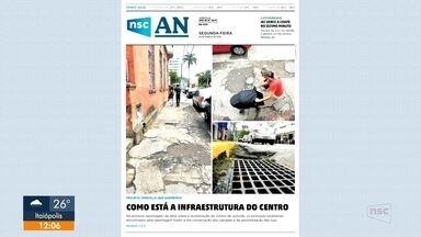 Confira os destaques do jornal A Notícia - Confira os destaques do jornal A Notícia