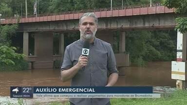 Moradores atingidos por rompimento de barragem reclamam por falta de auxílio da Vale - Moradores atingidos por rompimento de barragem reclamam por falta de auxílio da Vale