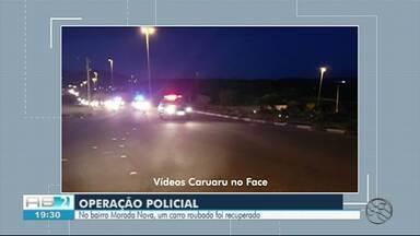 Polícia Civil e Biesp realizam operação em bar de Caruaru - Nove pessoas que estavam no bar foram conduzidas à Delegacia de Plantão para prestarem depoimento.
