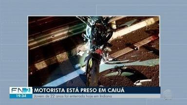Motociclista morta por motorista embriagado é sepultada em Indiana - Batida aconteceu na Rodovia Raposo Tavares (SP-270).