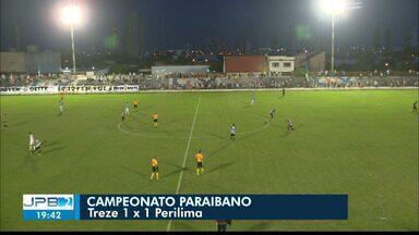 JPB2JP: 3 jogos foram disputados no domingo pela nona rodada do Paraibano - Veja os gols.