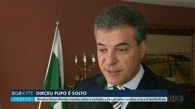 Contador de família Richa é solto - Dirceu Pupo estava preso desde o início de Janeiro, quando foi um dos alvos da Operação integração