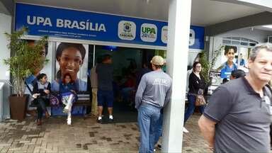 Pacientes reclamam de demora no atendimento da UPA Brasília - Paciente denuncia espera de seis horas por atendimento. Prefeitura diz que houve problema no sistema provocado por queda na internet.