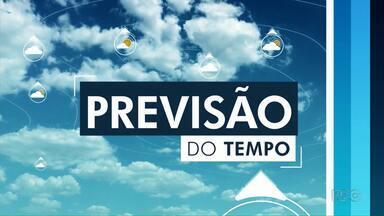 Frente fria pode trazer chuva pra Maringá - Previsão é de que a temperatura não passe dos 30º nesta terça-feira (19)