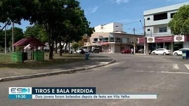 Dois são baleados depois de festa em Vila Velha, ES - Caso aconteceu no fim de semana.