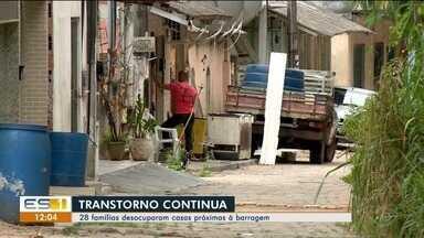 Risco em barragem do Rio Pequeno faz famílias ribeirinhas saírem das casas em Linhares, ES - Risco em barragem do Rio Pequeno faz famílias ribeirinhas saírem das casas em Linhares, ES