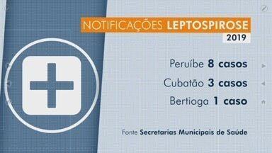 Casos de leptospirose sobem com as constantes enchentes na Baixada Santista - Doença é causada principalmente por urina de rato e moradores devem tomar mais cuidado nessa época de chuvas fortes.