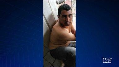 Polícia Militar prende dois suspeitos de assaltar um posto de combustível em Maranhãozinho - Suspeitos que foram presos em Santa Luzia do Paruá foram identificados como Francinélio Silva Evangelista, de 24 anos, e Jardiel Viana Costa, 31.