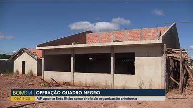 Operação Quadro Negro investiga esquema que desviou pelo menos R$20 milhões da educação - Ministério Público aponta Beto Richa como chefe de organização criminosa.