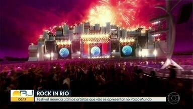 Rock in Rio define programação do Palco Mundo - Tour virtual mostra como ficará a Cidade do Rock. O festival vai acontecer entre setembro e outubro deste ano.