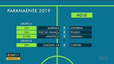 Athletico enfrenta o Operário nesta quarta-feira (20) - Pelo grupo B, o Coritiba joga fora de casa contra o Cascavel CR.