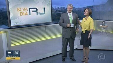 Bom Dia RJ - Edição de quarta-feira, 20/03/2019 - As primeiras notícias do Rio de Janeiro, apresentadas por Flávio Fachel, com prestação de serviço, boletins de trânsito e previsão do tempo.