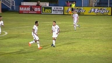 Veja o gol da vitória da Aparecidense sobre o Novo Horizonte - Camaleão vence por 1 a 0 e avança no Campeonato Goiano