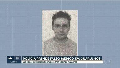 Polícia prende homem que se passava por médico e realizava procedimentos estéticos - Patrick Galvão, 35 anos foi preso em flagrante na última terça-feira (19) quando se preparava para aplicar uma substância desconhecida em uma modelo num quarto de hotel, ele se dizia médico do Samu.