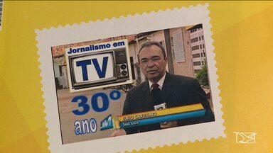 Repórter da TV Mirante é homenageado em São Luís - Com 30 anos de carreira dedicados ao jornalismo, o repórter Élbio Carvalho foi homenageado com um selo comemorativo lançado pelos correios.