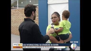 Dia Internacional da Síndrome de Down é comemorado nesta quinta-feira (21) - Data lembra a importância dos direitos iguais.
