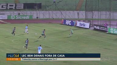 Londrina vence o Maringá por 2X1 - Com mais uma vitória o Londrina tá em segundo lugar no grupo, atrás apenas do Atlético que ainda não perdeu nesse segundo turno.
