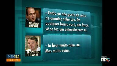 MP acusa Ricardo Barros de 'interferir' em licitação da prefeitura - Investigações começaram em 2011; licitação era para contratação de agência de publicidade.