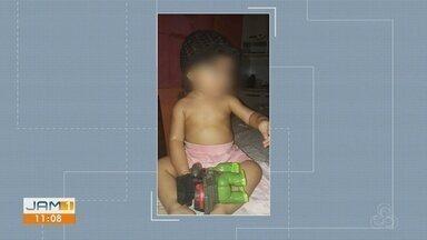 Morre menina agredida pelo padastro, em Manaus - Padastro está sendo procurado pela polícia.