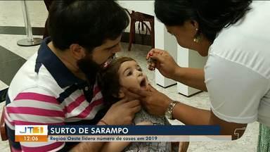 Região oeste do Pará lidera número de casos de sarampo em 2019 - No Pará, 25 casos já foram registrados este ano. Brasil deve perder certificado de erradicação da doença.