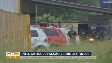 Operação Lama Vermelha: polícia cumpre mandados de prisão em Rondonópolis - Operação Lama Vermelha: polícia cumpre mandados de prisão em Rondonópolis.