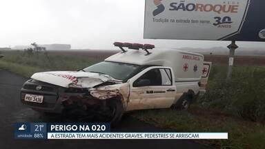 BR-020 é a rodovia mais perigosa que corta o DF - Das 137 mortes registradas em 2018, 47 aconteceram na BR-020.