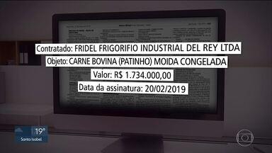 SP compra carne de frigoríficos suspensos - Contratos foram assinados pela Secretaria Estadual da Educação.