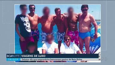 Delator diz que empresários bancavam despesas de Beto Richa em viagens de luxo - Maurício Fanini é delator na Operação Quadro Negro.