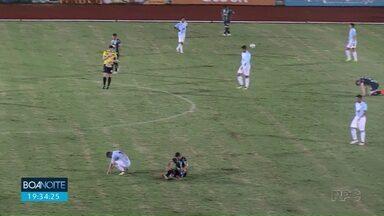 Maringá FC está a um ponto da zona de rebaixamento - Situação complicou ainda mais depois de derrota para o Londrina por 2 a 1 no clássico do café