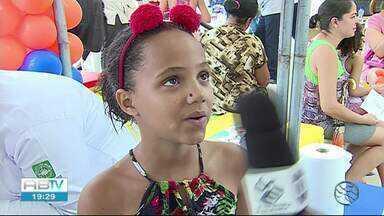 TV Asa Branca realiza projeto 'Saúde nos Bairros' em parceria com o ICIA - Projeto foi realizado na manhã desta quinta-feira (21).