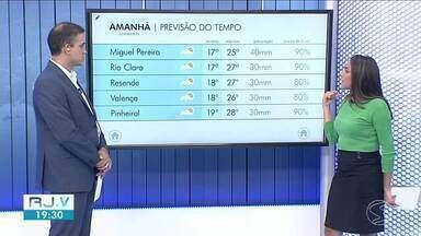 Chuva pode chegar a qualquer hora desta sexta-feira no Sul do Rio - Sol pode aparecer entre nuvens e em curtos períodos.