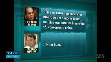 MP de Maringá move ação por improbidade contra Ricardo Barros - Segundo o Ministério Público, Barros teria interferido em uma licitação para alterar o resultado do processo