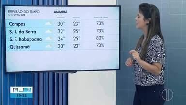 Confira a previsão do tempo para esta sexta-feira (22) no Norte e Noroeste Fluminense - Assista a seguir.