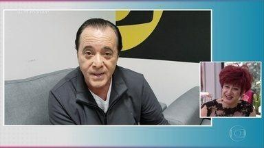 Tony Ramos manda recado para Nany People - Ator é só elogios para o talento da artista, que estreou em novelas aos 53 anos