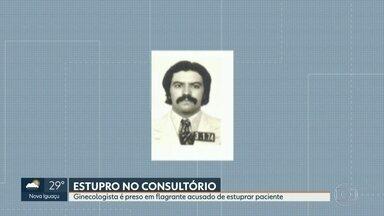 Ginecologista é preso em flagrante acusado de estuprar paciente - Paciente acusa o Dr. Silvio Pereira, 75 anos de ter cometido abuso sexual dentro do consultório.