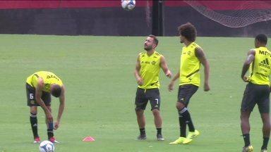Abel Braga pretende escalar força máxima contra o Fluminense na última rodada da Taça Rio - Abel Braga pretende escalar força máxima contra o Fluminense na última rodada da Taça Rio