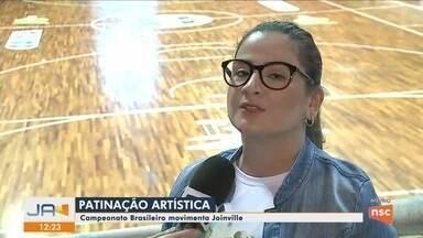 Joinville sedia o Brasileiro de Patinação Artística até o fim de março - Joinville sedia o Brasileiro de Patinação Artística até o fim de março