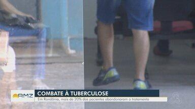 Abandono do tratamento dificulta combate à tuberculose em Rondônia - Mais de 20% dos pacientes abandonaram tratamento.