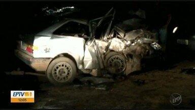 Três pessoas morrem em acidente com motorista embriagado na BR-459 - Três pessoas morrem em acidente com motorista embriagado na BR-459