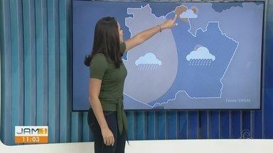 Confira a previsão do tempo no Amazonas para esta segunda-feira 25 - Karla Melo comenta.