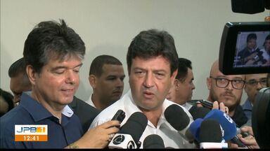Ministro da Saúde libera recursos para Hospital Napoleão Laureano, em João Pessoa - Ministro esteve na cidade nesta segunda-feira (25).