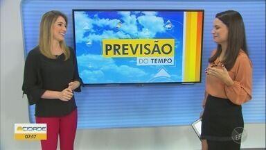 Campinas tem máxima de 28°C nesta terça-feira (26) - Confira a previsão do tempo para Campinas e região.