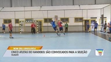 Time de handebol de Taubaté inicia treinamentos para temporada - Equipe é a atual campeã do pan-americano.