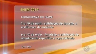 Edital do Enem é divulgado; taxa de inscrição é de R$ 85 - Prova será aplicada em dois domingos: 3 e 10 de novembro.