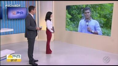 Força tarefa investiga relação entre assassinatos ocorridos em Baião, no Pará - Três pessoas foram encontradas carbonizadas em uma fazenda, em uma área próxima de onde três outras foram executadas.