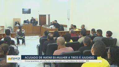 Acusado de matar ex-mulher a tiros é julgado em RO - Crime ocorreu em julho do ano passado, em Candeias.