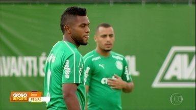 No Palmeiras, Felipão ainda não definiu ataque do time - No Palmeiras, Felipão ainda não definiu ataque do time